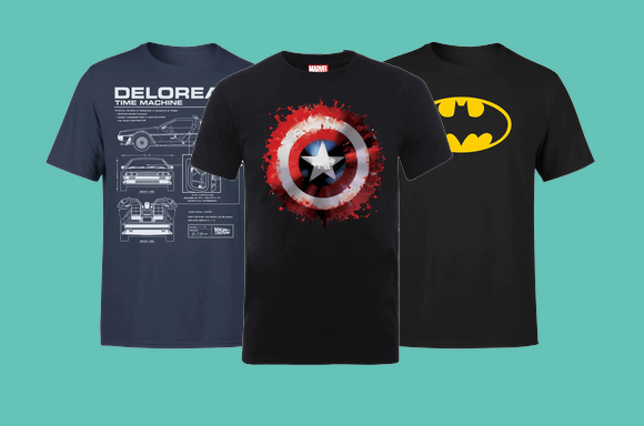2 FOR £18 T-SHIRTS