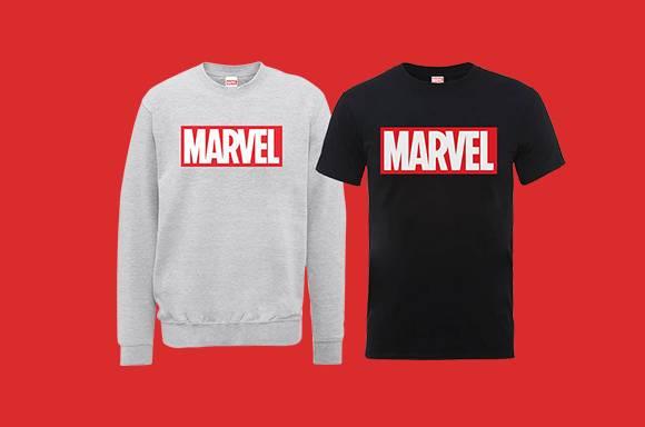 Sweatshirt & T-Shirt Marvel à 16,99€