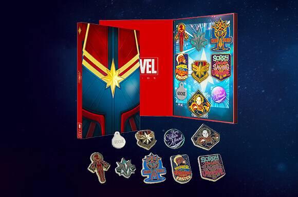 Licensed pins sets