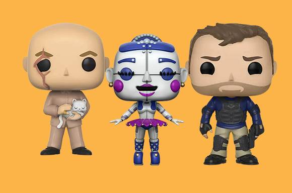 3 Figurines Funko Pop! pour 29,99€ !