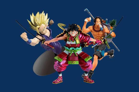 20% de réduction sur les Figurines Banpresto & Bandai !