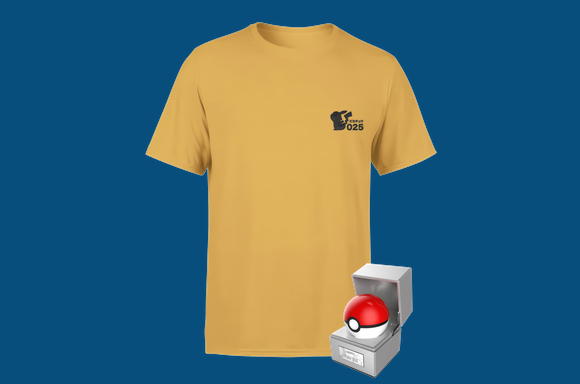Lot Pokeball & T-shirt