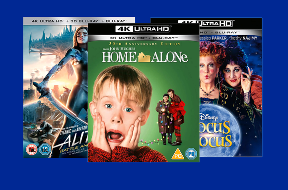 3 films 4K Ultra HD pour 32€