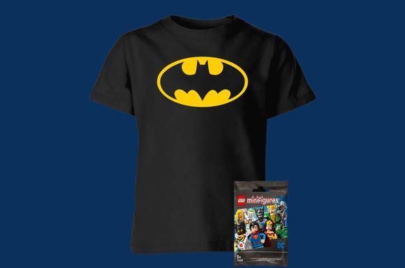 T-Shirt Batman pour Enfant à 13,99€