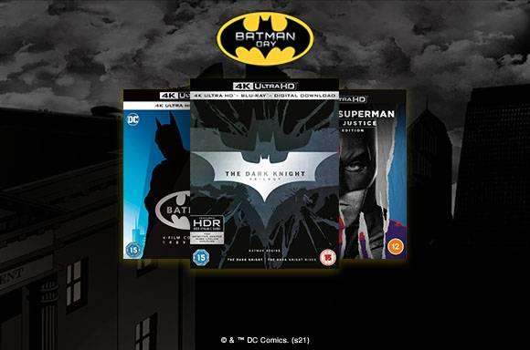 20% de réduction sur les BLU-RAY & DVD 4K UHD Batman