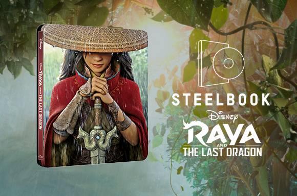Raya and the Last Dragon 4K UHD Steelbook