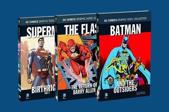 5 FOR £14.99 DC COMICS HARDCOVER GRAPHIC NOVELS