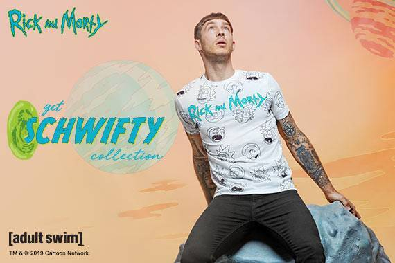 30% Off The Rick & Morty Clothing Collection