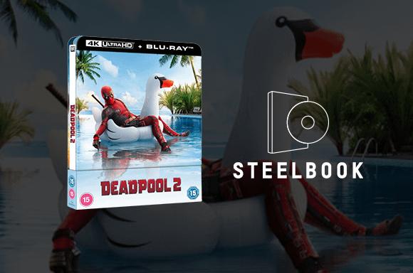 Deadpool 2 - 4K Ultra HD Lenticular Steelbook