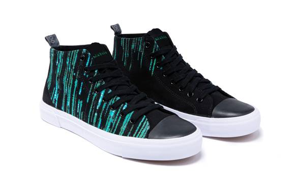 the Matrix Black Adult Signature High Top