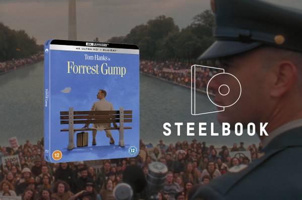 Forrest Gump - 4K Ultra HD Zavvi Exclusive Steelbook