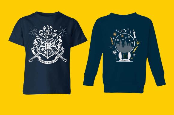 Harry Potter Tee & Sweatshirt Bundle