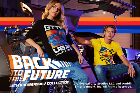 BACK TO THE FUTURE CLOTHING