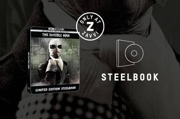 L'UOMO INVISIBILE 4K UHD Steelbook