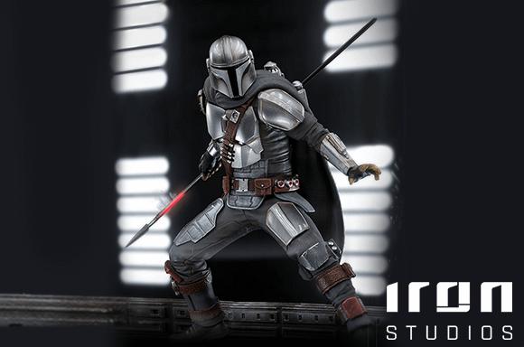 Iron Studios Star Wars Mandalorian Figures