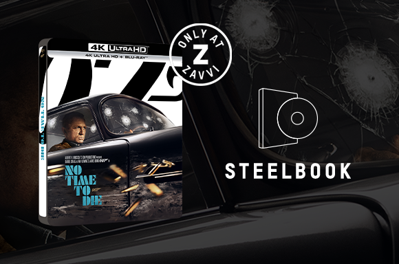 James Bond No Time To Die Steelbook