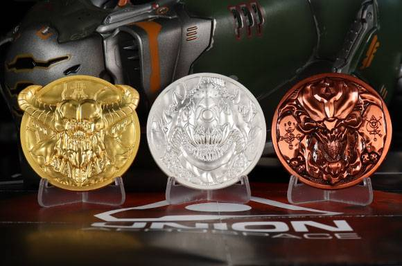 DUST! Doom 5th Anniversary Medallion Collection