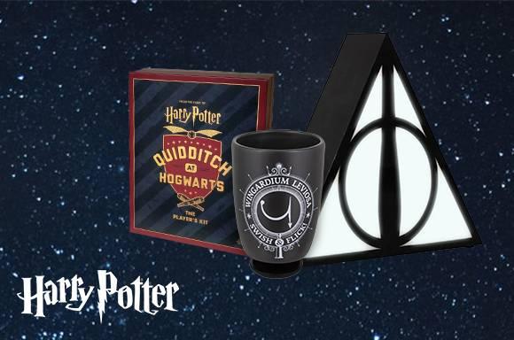 10% de réduction sur les cadeaux Harry Potter