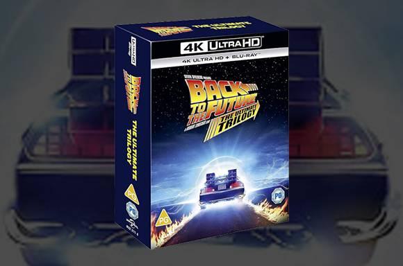 20% di sconto sulla Trilogia Ritorno al Futuro 4K Ultra HD