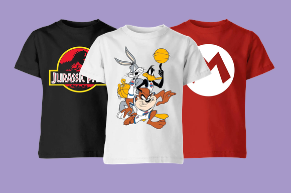 2 for £10 - All Kids T-Shirts