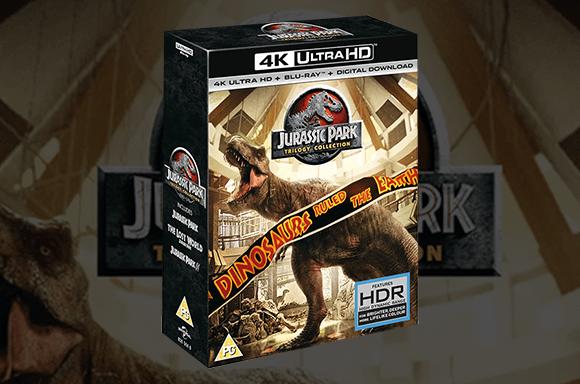 『ジュラシック・パーク』3作 4K UHD