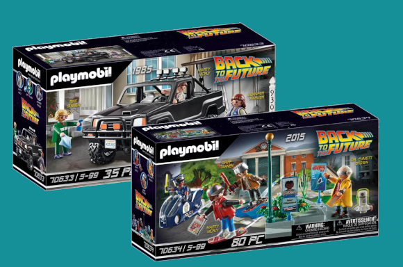 Playmobil Back To The Future Sets