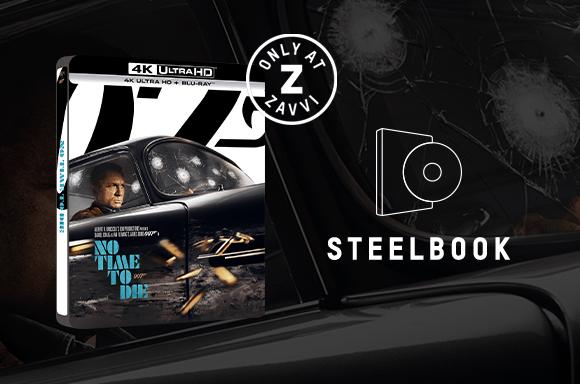 007/ノー・タイム・トゥ・ダイ<br>限定4Kスチールブック