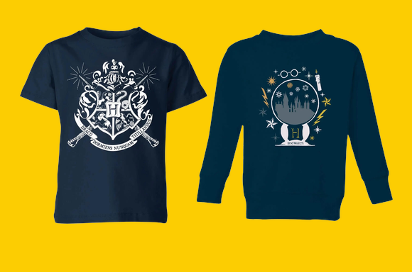 ハリーポッター<br>キッズTシャツ&スウェットセットで¥2600!