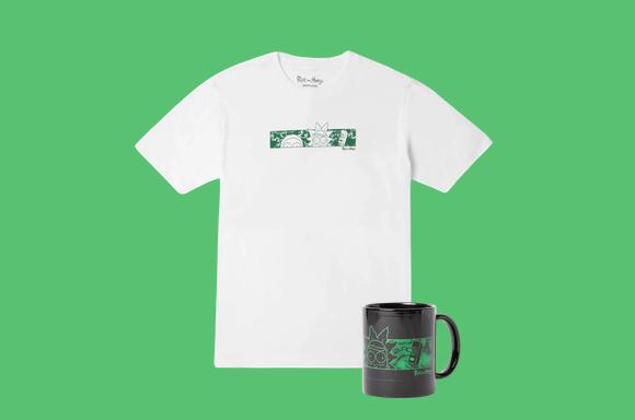 リックアンドモーティーTシャツ&マグカップ¥2200