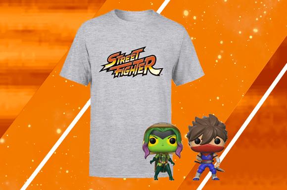 Streetfighter T-Shirt & Pop Bundel