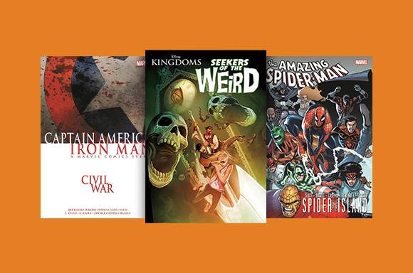 4 VOOR €22 Graphic Novels