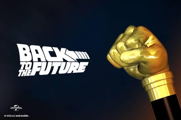 Biff Tannen's Walking Cane Back To The Future Prop Replica