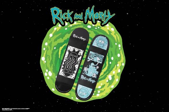 DUST x Rick and Morty