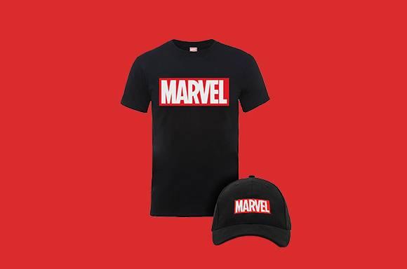 Marvel Cap & Tee only £12.99!