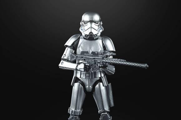Hasbro Star Wars The Black Series Carbonized Metallic Stormtrooper Actiefiguur