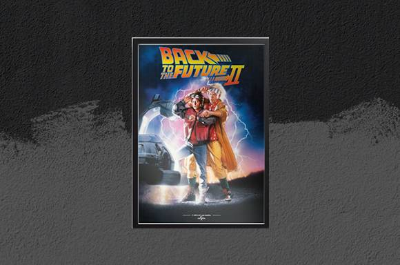 BACK TO THE FUTURE PRINTS