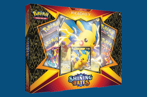 Pokemon TCG: Shining Fates Pikachu V Box