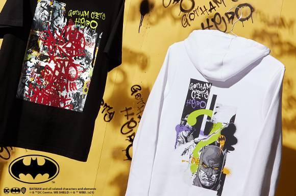 Akedo x Batman Mash Up  Adult Signature High Top