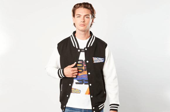 Back to the Future Varsity Jacket