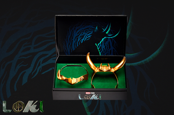 Marvel's Loki & Sylvie Replica Helmet Set