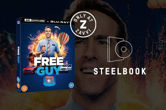FREE GUY 4K UHD Steelbook