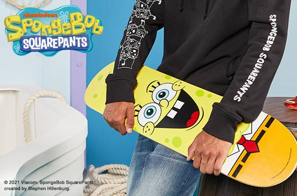 SpongeBob Skateboard Deck