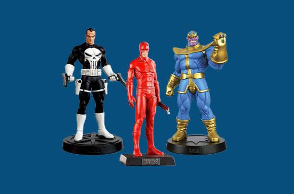5 Action Figures For $30!