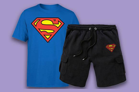 DC T-shirt & Shorts only $24.99
