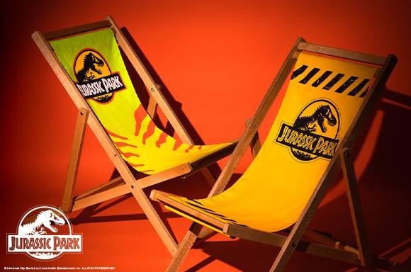 Decorsome x Jurassic Park Deck Chair
