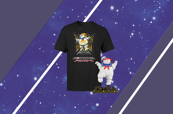 Ghostbusters Tee + Figure Bundle