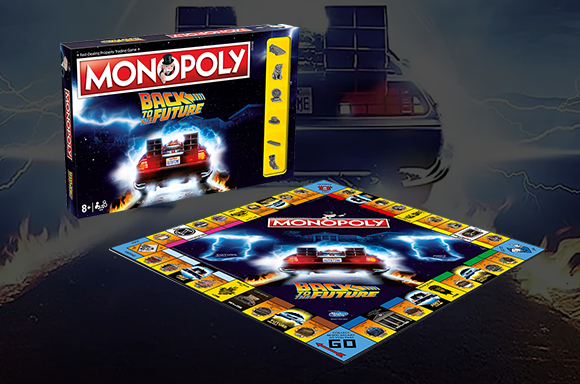 Monopoly Back to the Future Edition Board Games
