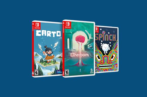 IAM8BIT SWITCH & PS4 GAMES