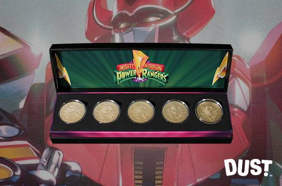 POWER RANGERS <BR>LIMITED EDITION COIN SET