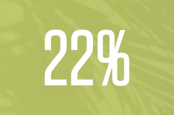 22% Off